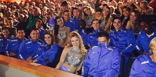 Glee's Color Guard joins Vocal Adrenaline - WGI