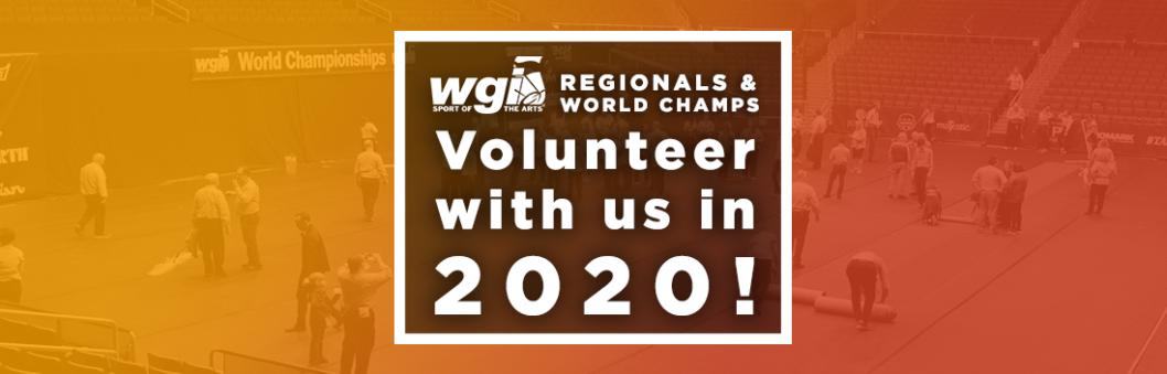 Volunteer with WGI in 2020! - WGI